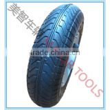 200x50 pneumatic rubber wheel for baby trolley wagon