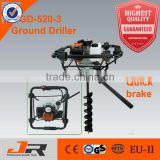 2015 52cc earth driller with safety braking drilling machine