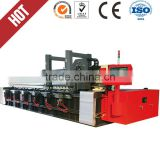 Automatic sheet metal notching machine,CNC metal plate v-cutting and 4000mm grooving and slotting lathe