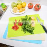 Food Grade Flexible Chopping Mat Blank Kitchen Plastic Cutting Board