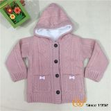 Coral fleece thick hoodie cardigan Sweater
