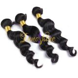 Wholesale  Natural Virgin Remy Indian Human body wave human hair weft/weaving