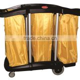 hot selling hotel housekeeping maid cart