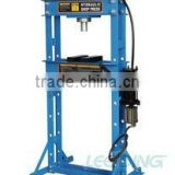 30Ton Hydraulic Pneumatic Shop Press with gauge and press plates