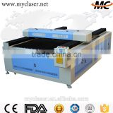 Acrylic wood mdf carboard plastic rubber PVC foam fabric leather MC 1325 CO2 Laser cutting machine price for sale