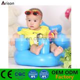 Factory OEM PVC inflatable baby bath chair inflatable infant seat inflatable cushion