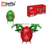 2018 kids christmas gift flying egg toy RC drone with camera