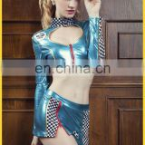Sexy hot DS nightclub bikinis golf costume leather lingerie mature women sexy clubwear