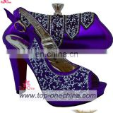 African shoe and bag / wedding shoe and matching bag women shoe bag set