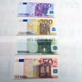 Euro currency banknotes series tyvek wallet