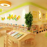 wholesale wooden preschool kids reading room furniture suppliers