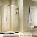 Quadrant Clear Tempered Glass Sliding Door Shower Enclosure
