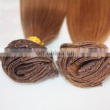 160g double drawn clip in human hair extension top quality clip hair extension