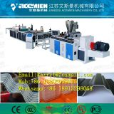 Plastic composite wave roof tile production line/ PVC wave roof tile processing line/ Vinyle wave roof sheet  machine