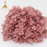 Grade A Preserved Dyed Hydrangea flowers for wedding  home  decoration and events