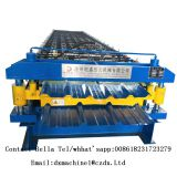 Double layer steel plate rolling machine