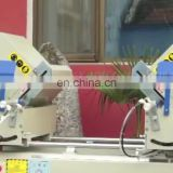 pvc door making machine, Double head Mitre Saw for PVC&Aluminum window cutting machine