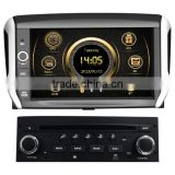 Factory price wince car MP4 player for Peugeot 208 with GPS/3G/DVD/Bluetooth/IPOD/RMVB/RDS