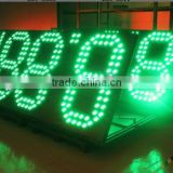 HOT Porducts 42 inch high brightness gas station no-7 segment LED digital price display board