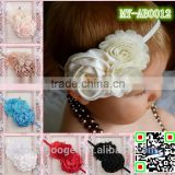 European top baby headband wholesale baby indian bridal beaded hair accessories MY-AB0012