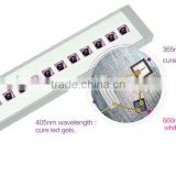 multifunctional led nail lamp with 9w power led bulb