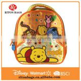 Wholesale The Most Popular Children Insulated Lunch Bag with Cartoon Cute Pooh for Kids with Shoulder Straps                                                                         Quality Choice