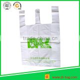 cheap wholesale good quality Shopping roll vinyl plastic grocery t-shirt bag manufacturer