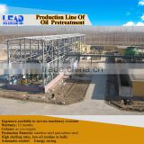Turnkey project 16 years experience energy saving vegetable oil processing plant with ISO for sale