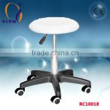 RC10018 White/black/brown leather bar stool for salon
