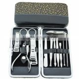 Nail Care 12 Piece Cutter Set Cuticle Clipper Manicure Pedicure Kit