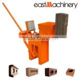 Top sale widely used interlocking soil brick press machine clay manual brick making machine for sale