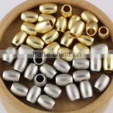 Inquiry about JS1212 High Quality Matte Metal Gold Silver Drum Rice Spacer Beads,Dull Polish Matt Beads