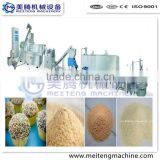 High output Bread crumb processing plant/extruder/machines