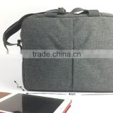 Customized nylon business computer laptop bag with shoulder strap                                                                         Quality Choice