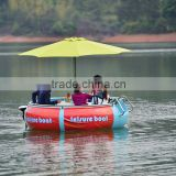 Enjoyable popular Water park equipment adult electric bumper boat for sale
