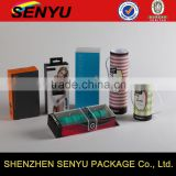 Textile Rope Handle Designed, cylindrical gift packaging box