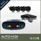 Water-proof roof mounting rear LED parking sensor system with E-mark certificate for car