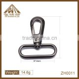 Fashion high quality shinny black dog hooks