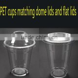 PET(ethylene terephthalate) Material and Beverage Use 7oz clear disposable PET cold beverage cup