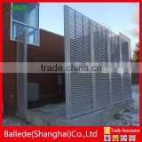 hot sale aluminum powder coated louver fence