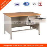 New design office furniture steel computer table with Synthetic wood desktop