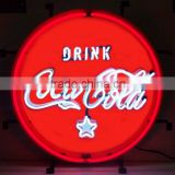 outdoor use customized glass neon light sign