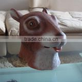 funny squirrel masks,cute halloween mask,latex mask