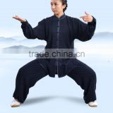 Custom Made Tai Chi suits Cotton Silk Wu Shu clothes Kung Fu Uniform Morning Exercise Martial Arts Performance Wear