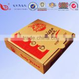 2016 Cheap Customied Corrugated Pizza Box , Pizza Packing Box