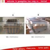 Guangzhou Rustic Garden Wooden Potting Table / Work Bench / Flower Pot Table