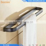 Copper Black Towel Rack Single Pole Towel Bar Bathroom Towel Hanging Bathroom Accessories