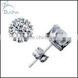 fashion screw back cz earring in wholesale                                                                         Quality Choice