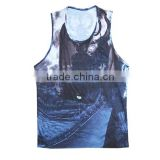 sublimation custom bodybuilding camo clothing/ bodybuilding wear men/ bodybuilding tank tops