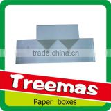 Paper folding small white box with magnet pack for ring, jewelry, cosmetic supplier in Guangzhou China